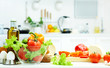 canvas print picture - healthy food