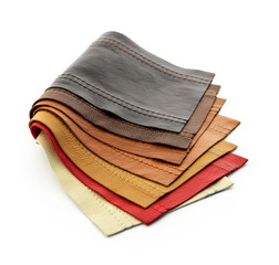 Leather samples