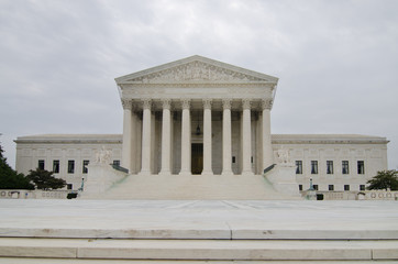 US Supreme Court in Washinton DC USA