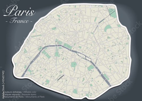 Plan de Paris - Version Luxe (3)