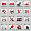 button White_red Automotive