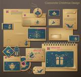 Fototapety Corporate Christmas Design.