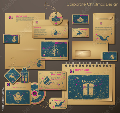 Corporate Christmas Design.