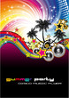 Tropical Musical Event Background