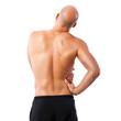 Sportler mit Rückenschmerzen