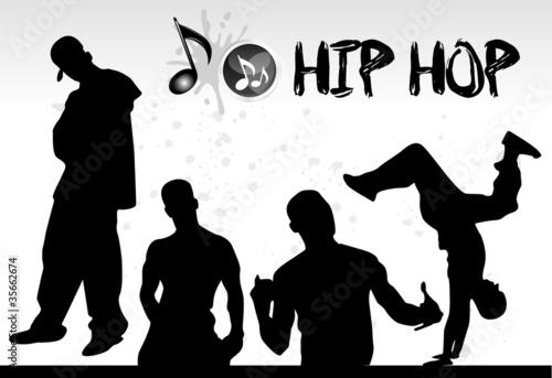 danseurs de hip hop