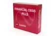 Financial Crisis concept