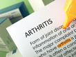 'Arthritis' highlighted in orange
