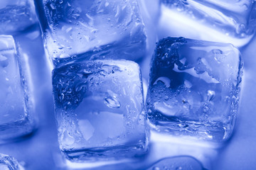 Ice, and cube