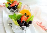 Healthy fruits salad