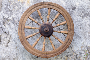 Retro Spinning Wheel