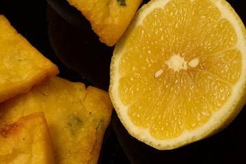 panelle e limone