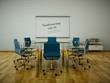 Bürodesign - Konferenzzimmer blau