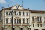 Town hall  building of Este, Friuli Venezia Giulia,Italy poster