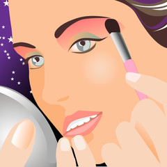 Make-up vector