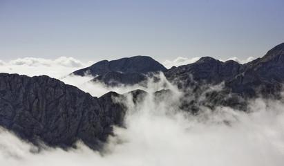 Triglav, highest peak in the Beautiful Julian Alps.