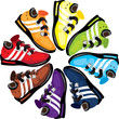 Rainbow Wheel Shoes