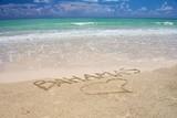 Fototapety Bahamas Tropical beach