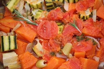 Recette de Soupe de légumes au Potiron