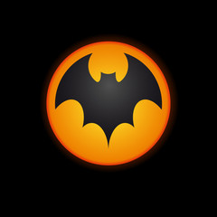 Logo Bat company, Halloween  # Vector