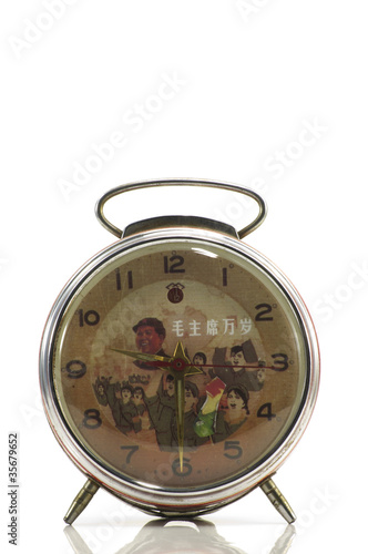 Chinese antique alarm clock