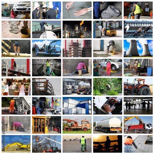 lavoro collage