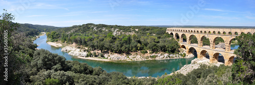 Zdjęcia na płótnie, fototapety, obrazy : Pont du Gard
