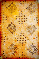 old vintage scrapped paper background