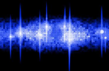 Hintergrund Disco - blau