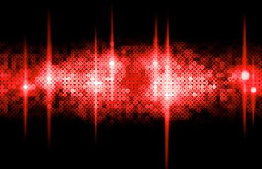 Hintergrund Disco - rot