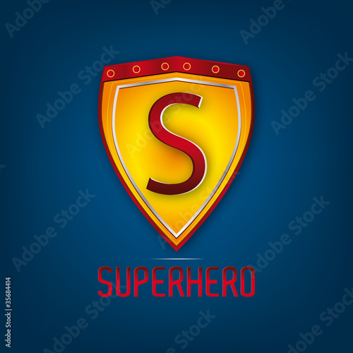 superhero logo - 35684414