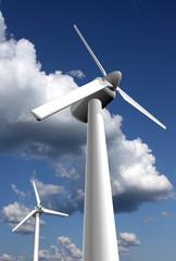 Wind power plants