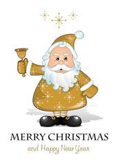 Santa Claus gold