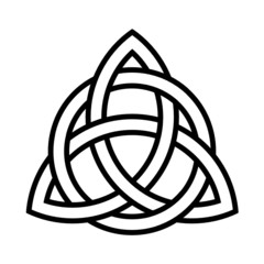 Triqueta noeud celtique celtic knot ireland scotland gaelic 020