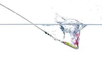 metal angling bait