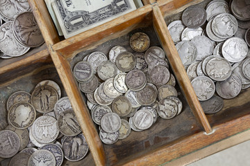 Vintage Coin Drawer