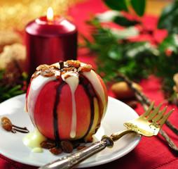 Weihnachten , Bratapfel