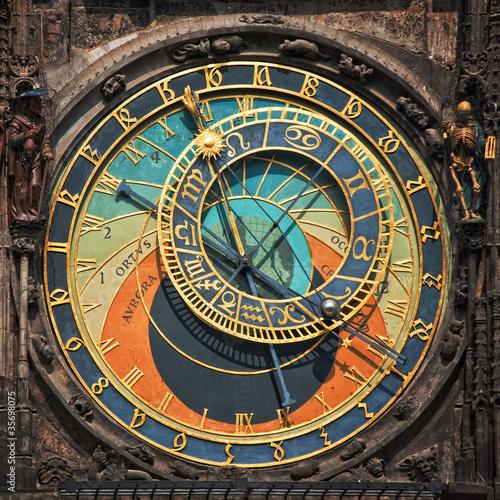 Staande foto Praag Prague astronomical clock