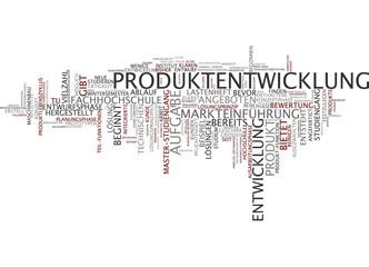 Produktentwicklung