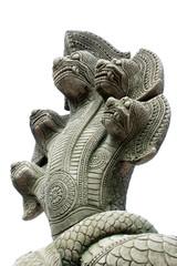 "Cambodian statue  ""Naga"""