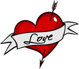 Tatuagem Coração
