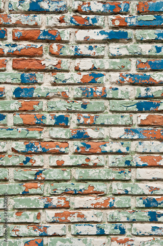 abstract background of old brick wall
