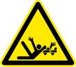 Warnschild Warnzeichen Verletzungsgefahr