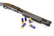 Law enforcement tactical shotgun with shells