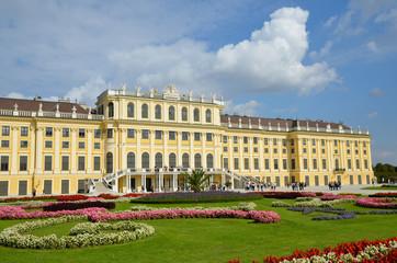 Au Palais de Schonbrunn à Vienne