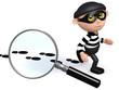 3d Burglar is being tracked!