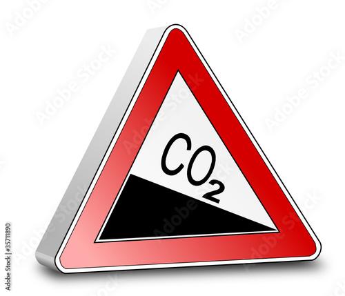 Schild CO2 reduzieren