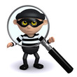 3d Burglar is being scrutinised