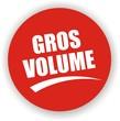 bouton gros volume