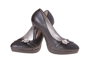 Women`s shoes isolated